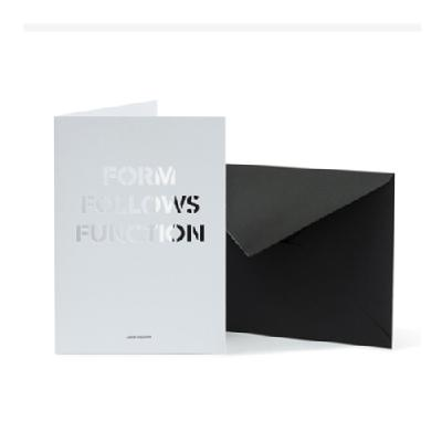 FORM FOLLOWS FUNCTION (カード+封筒)